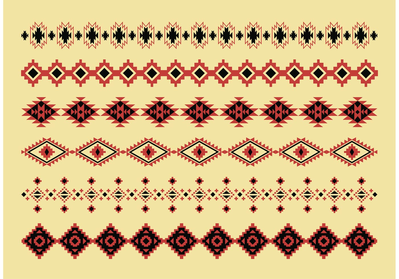 Native American Pattern Vectors Download Free Vector Art