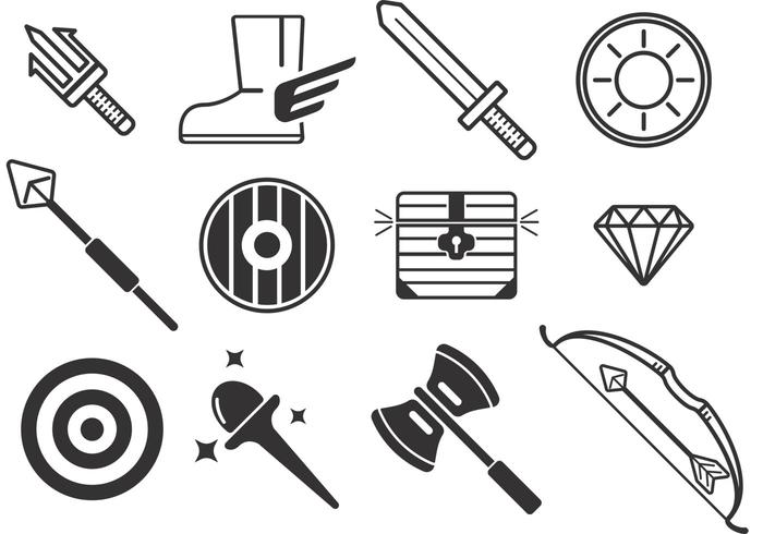 Weapon Vector Icons