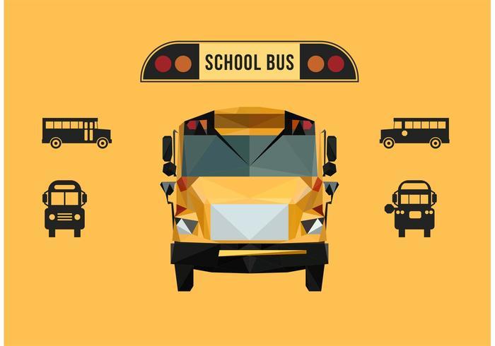 School Bus Free Vector