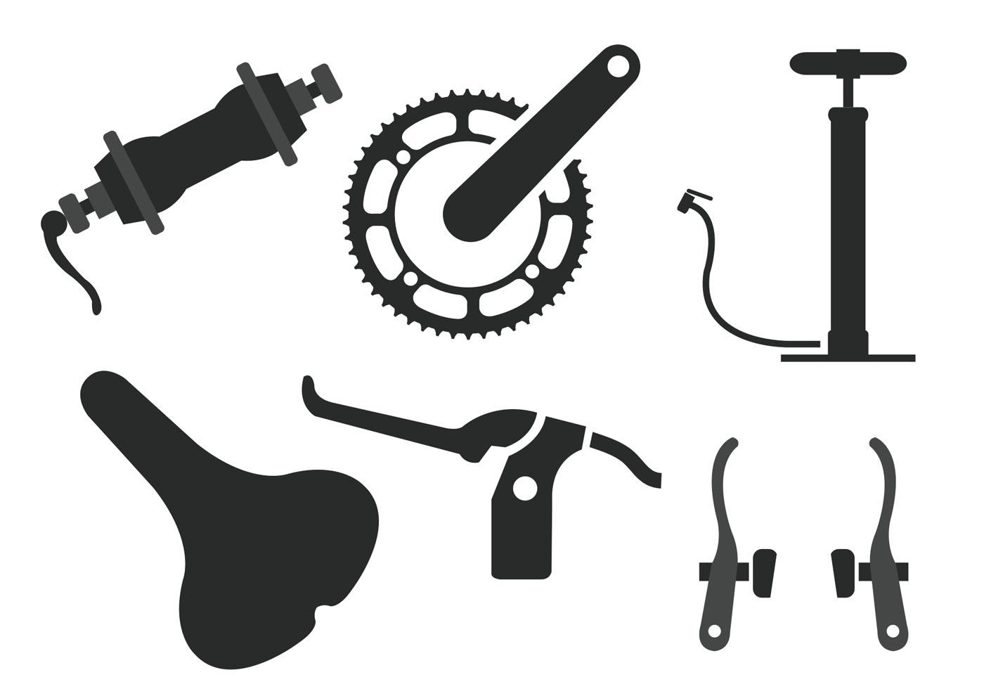 Bike Parts Vector 3 668 Free Downloads