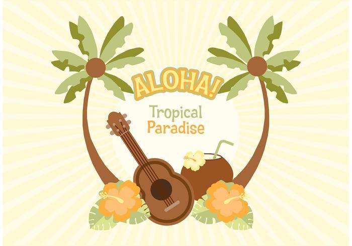 Gratis Hawaiiaanse Vectorillustratie