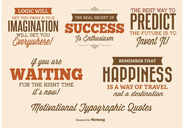 Etiquetas de citação tipográfica
