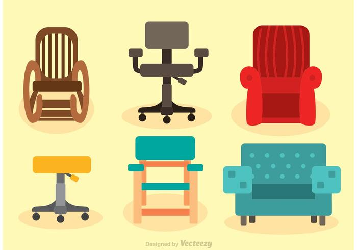 Chairs Vector Set