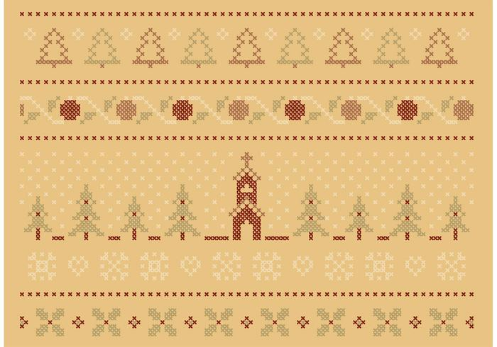 Cross Stitch Winter Set