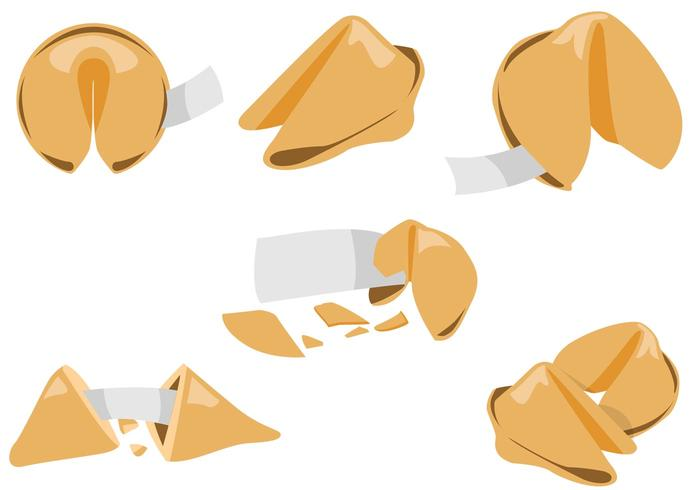 Free Fortune Cookie Vectors