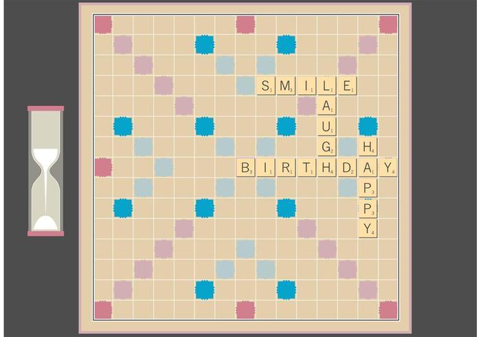 Scrabble Board Free Fector