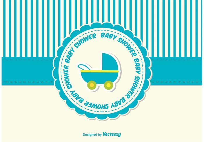 Cartão da festa do bebé