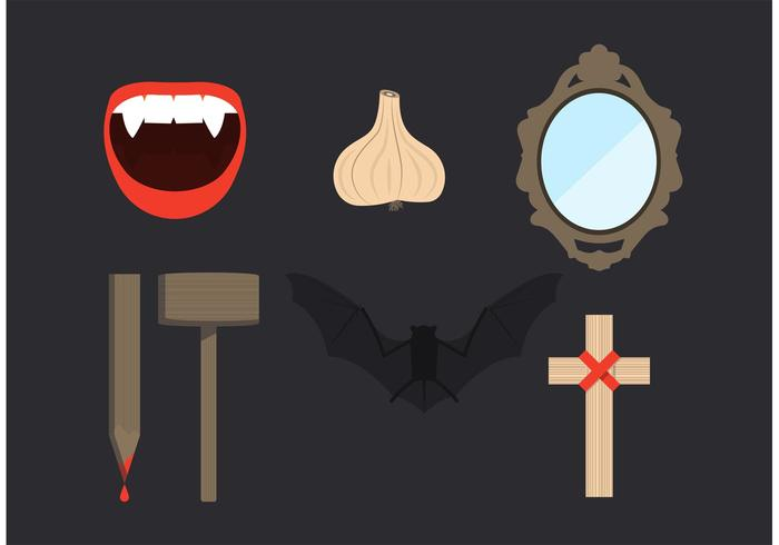 Dracula Element Vector Set