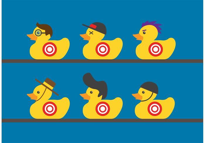 Rubber Duck Target Vectors Download Free Vector Art