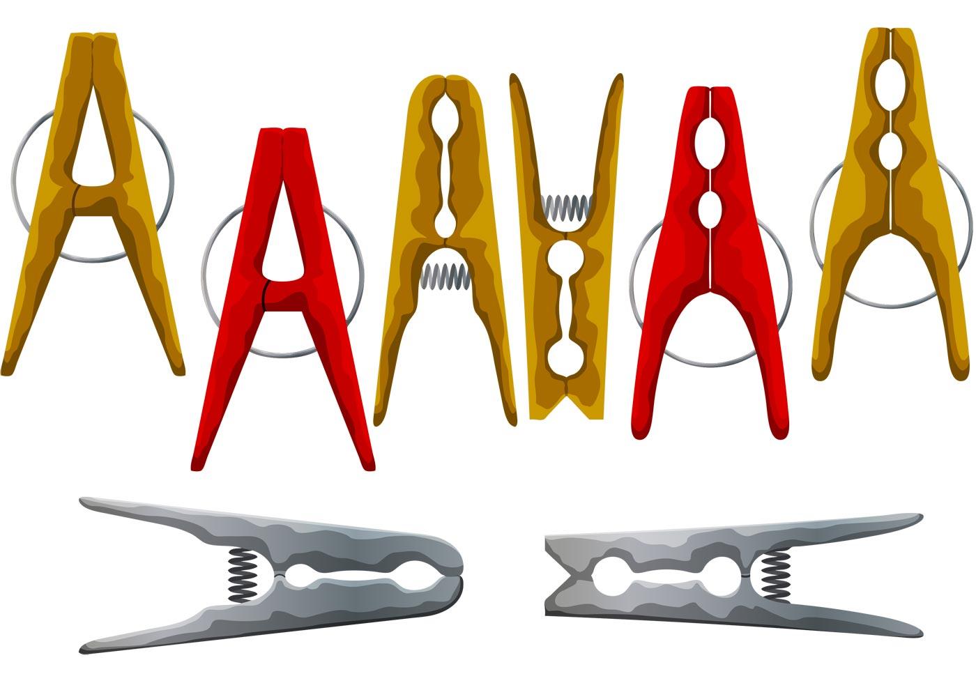 Clothespin Vectors Download Free Vector Art Stock
