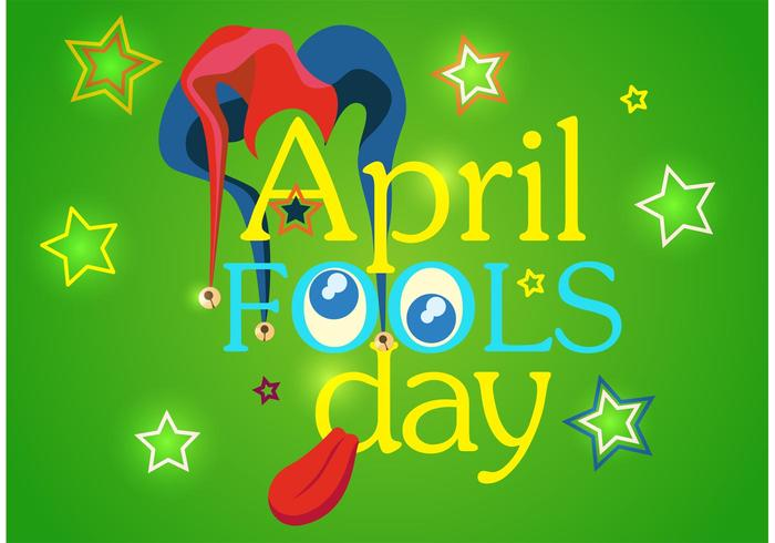 April Fool's Day Vector Achtergrond