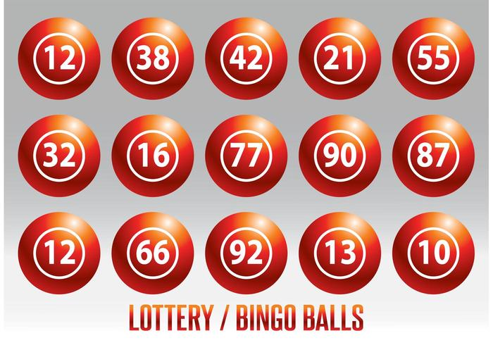 Lottery / Bingo Ball Vector Set