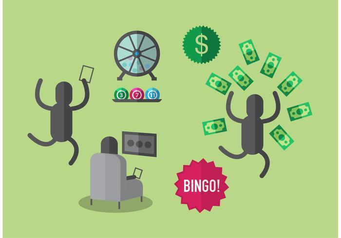 Lotto Balls Illustration Set