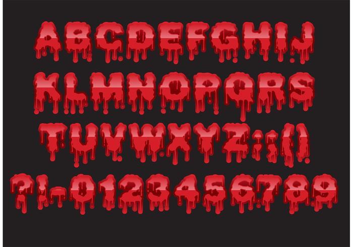 Bloody Vector Type