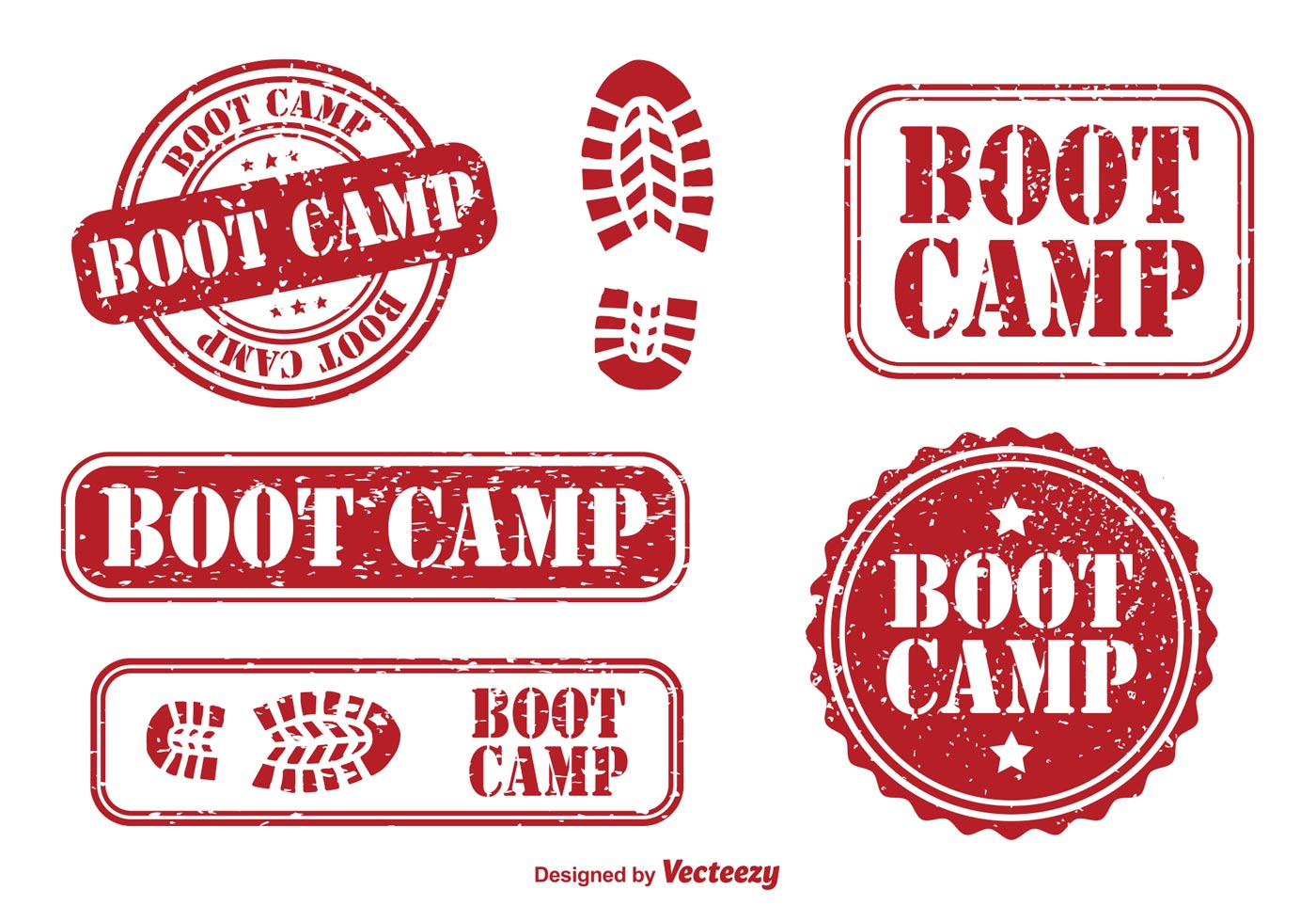 Boot Camp Rubber Stamps - Download Free Vector Art, Stock ...