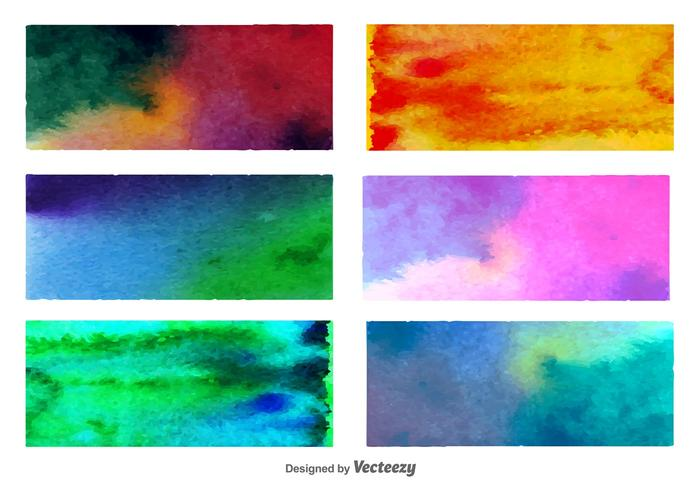 Watercolored Backgrounds