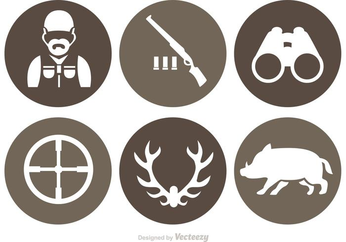Hunting Vector Icons
