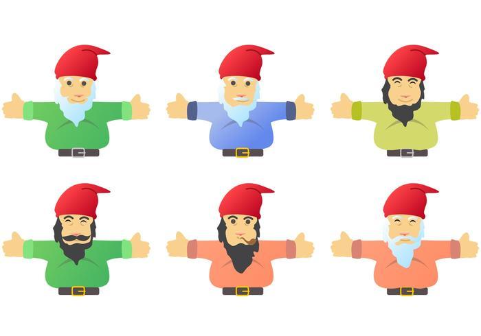 Gnome Character Vectors