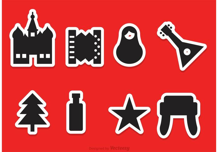Russian Vector Icons