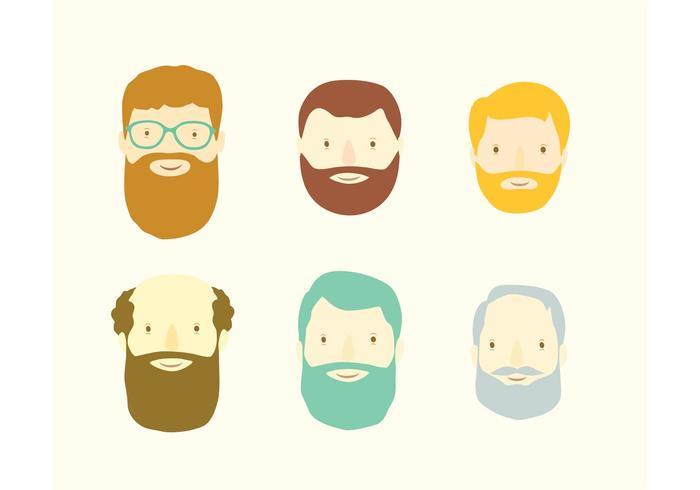 Beardy porträtt