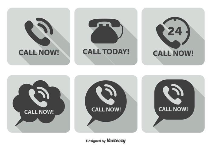 Call Now Icon Set