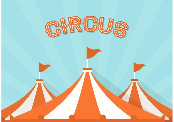 Free Big Top Circus Vector Background