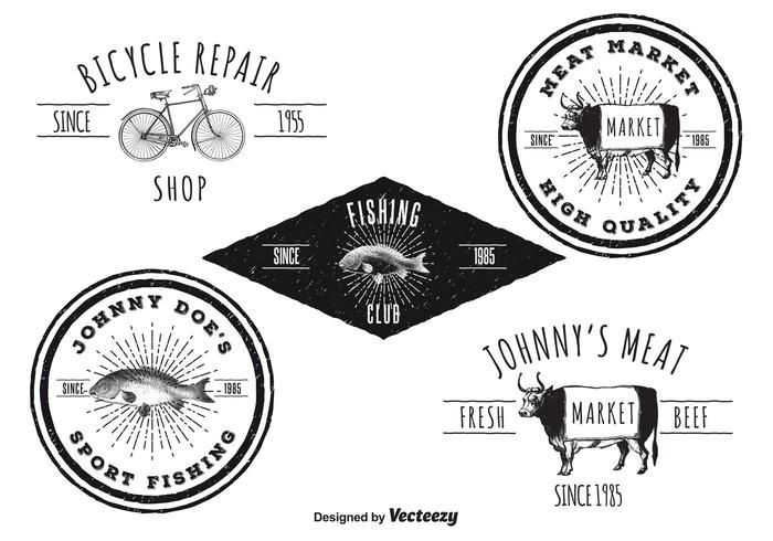 Vintage logo templates download free vector art stock graphics vintage logo templates pronofoot35fo Choice Image
