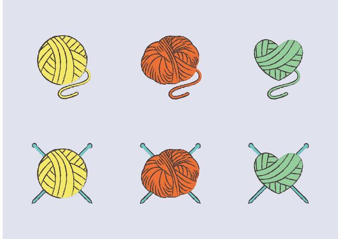 Free Ball of Yarn Vector