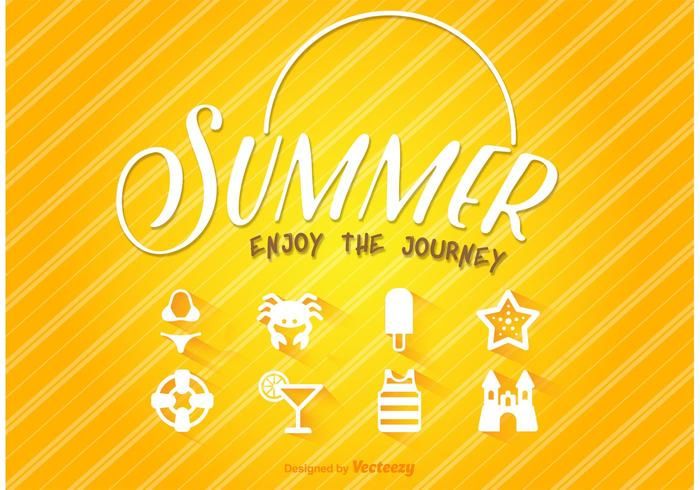 Summer Journey Icons