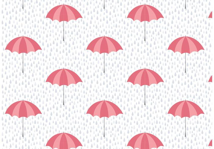 Paraply och regnväggsmönster
