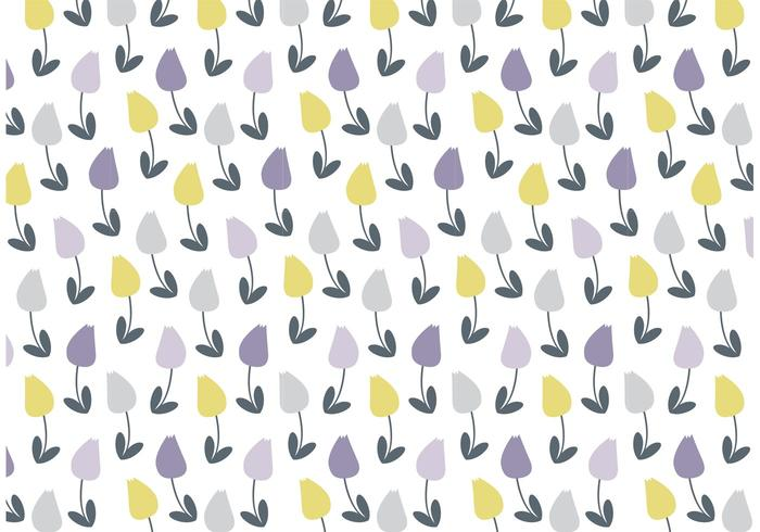 Pretty Floral Vector Pattern