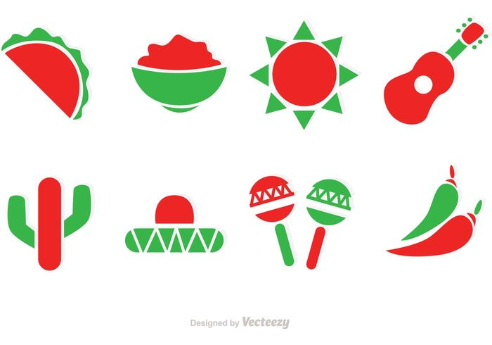 Mexico Vector Icons