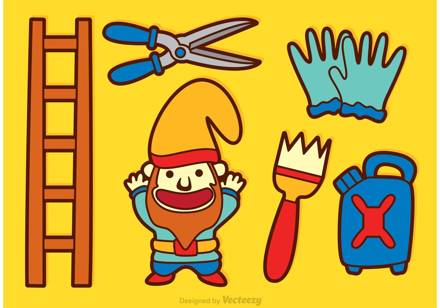 kobold o anao de jardim : kobold o anao de jardim:Anão de jardim Ícones dos desenhos animados – Descarregue Arte