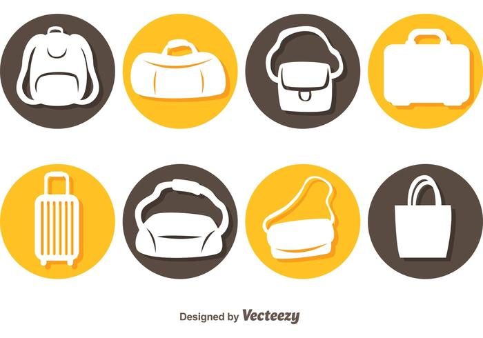 Vector Bags Icons