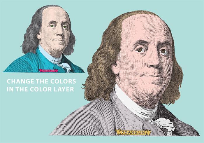 Ben Franklin Vector
