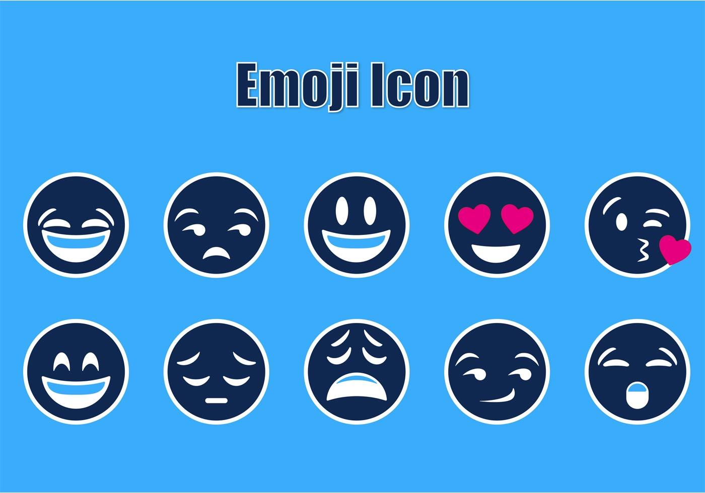 Free Emoji Icon Vectors - Download Free Vector Art, Stock ...