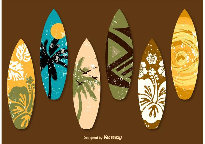 Decorated Surf Tables