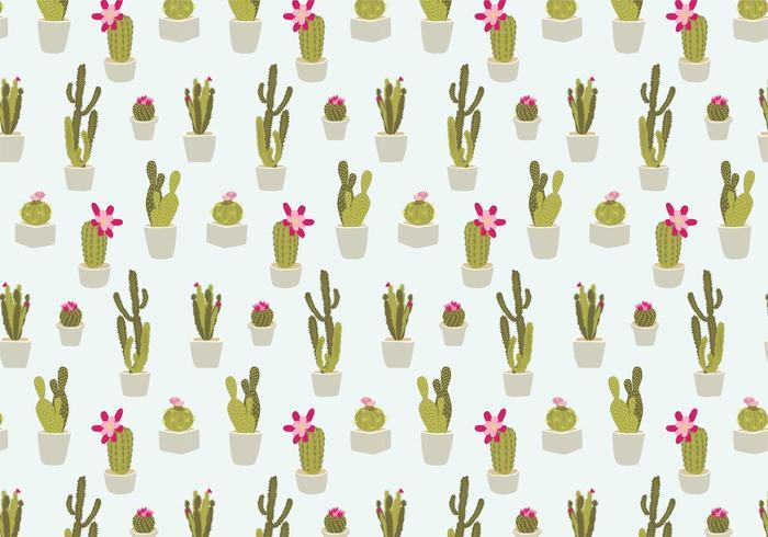 Sömlösa kaktusmönster