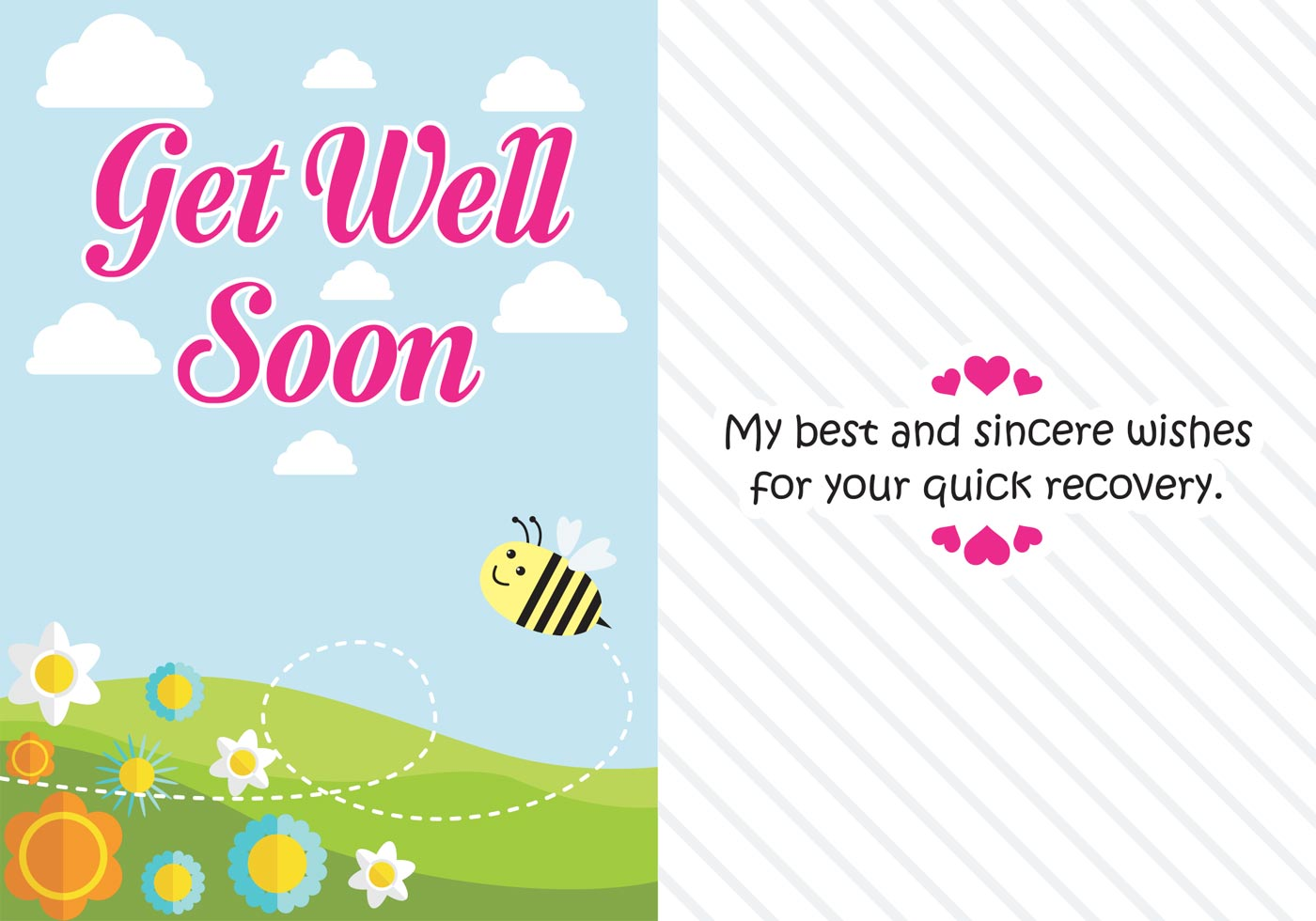 Get Well Soon Cards Free Vector Art 25649 Free Downloads