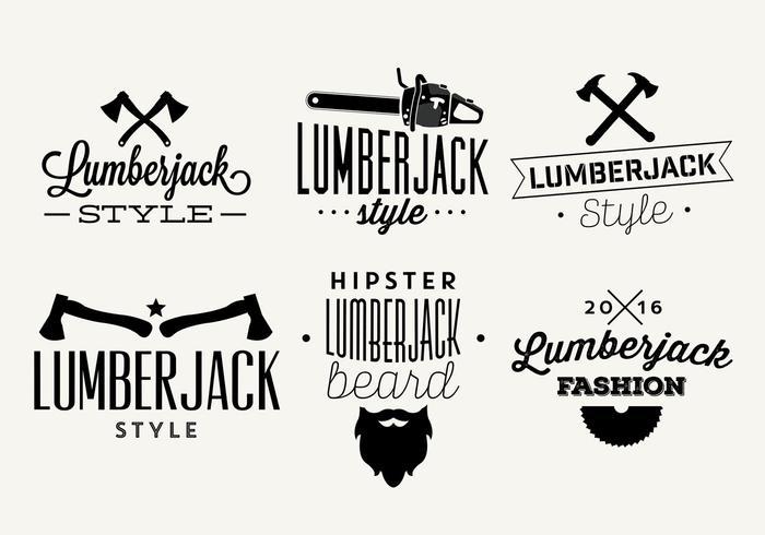 Illustrations vectorielles typographiques