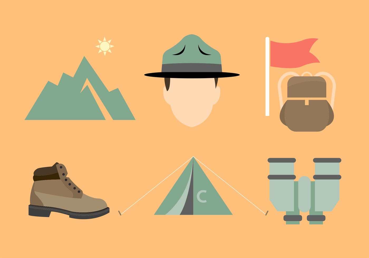 Boot Camp Vector Elements - Download Free Vector Art ...