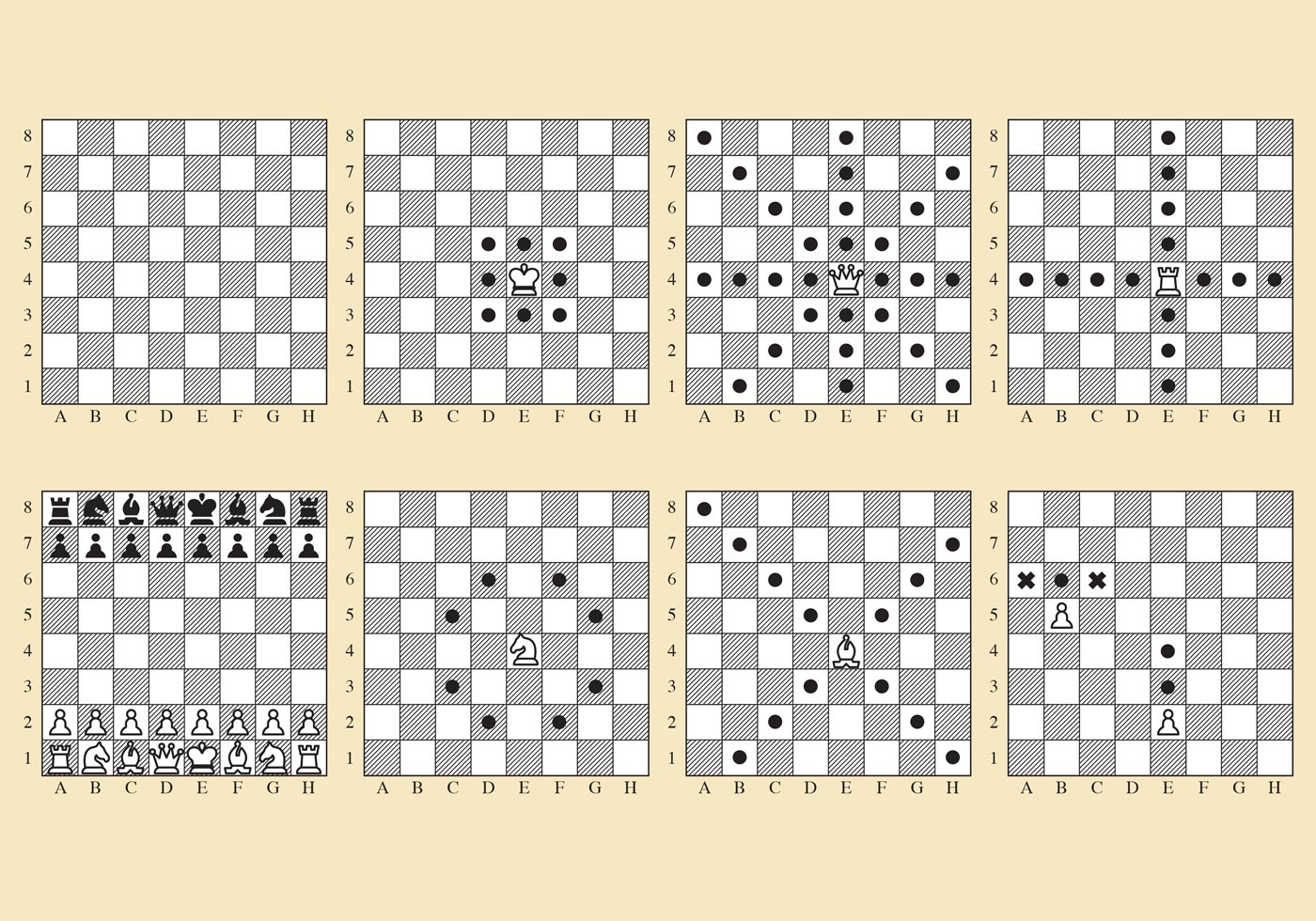 Vector Chess Movements - Download Free Vector Art, Stock ...