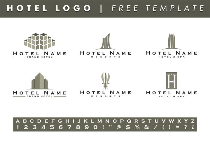 Hotels Logo Templates Vector Free