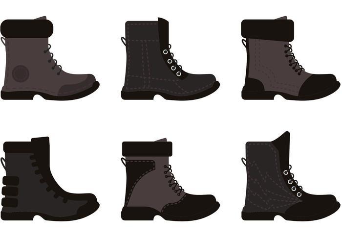Mens Boots Vectors