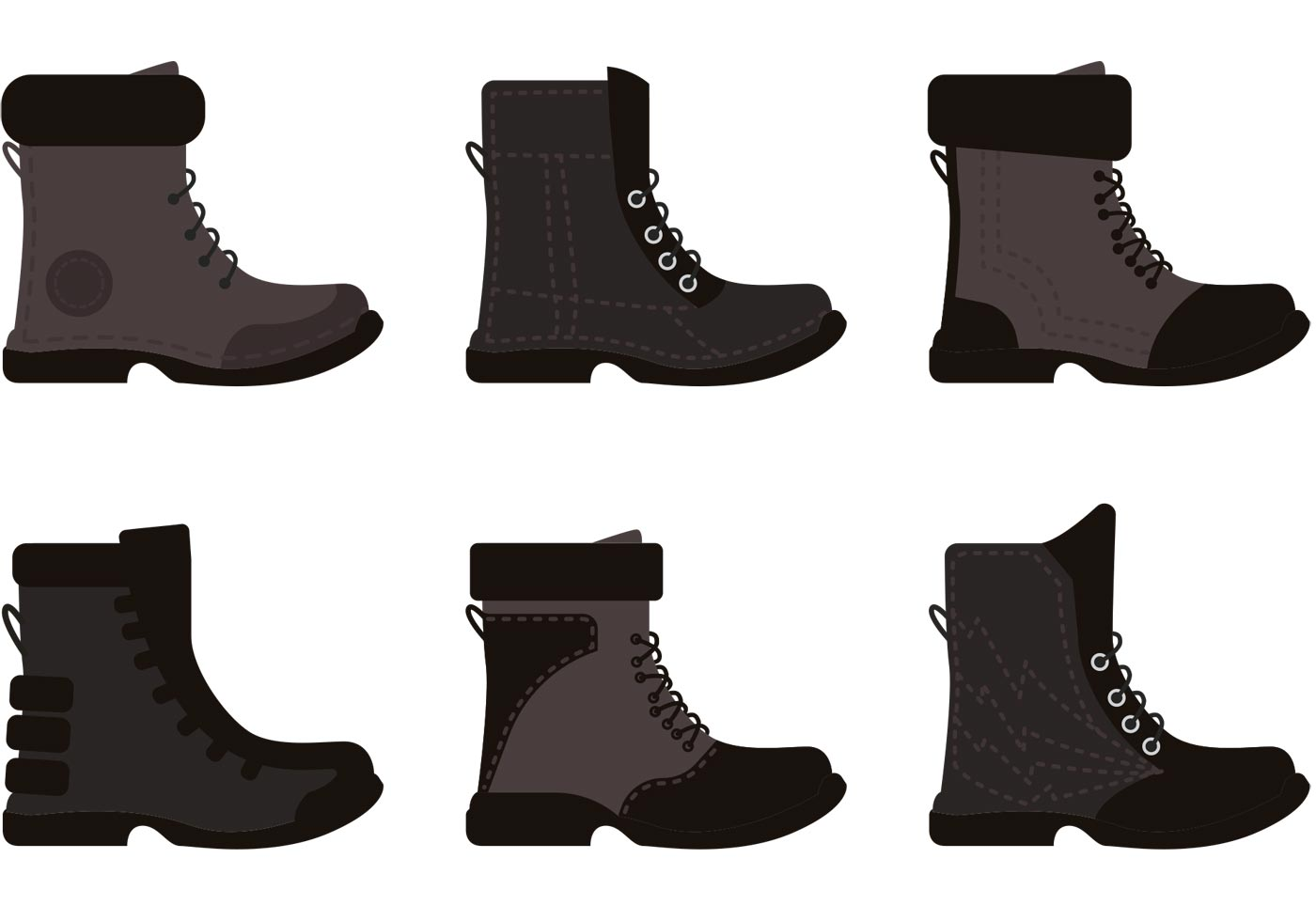 Boots Free Vector Art - (2394 Free Downloads)