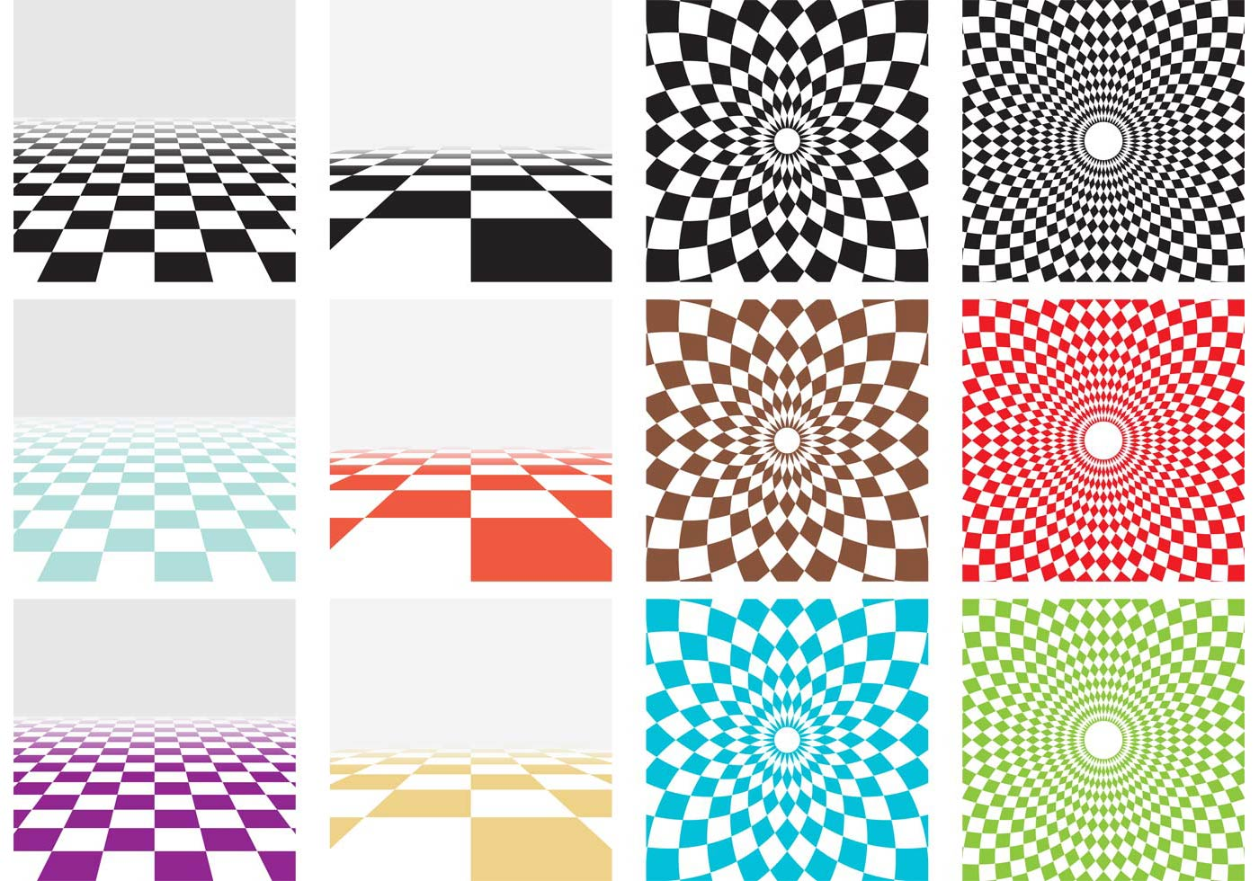 Vector Checker Board Patterns Download Free Vector Art