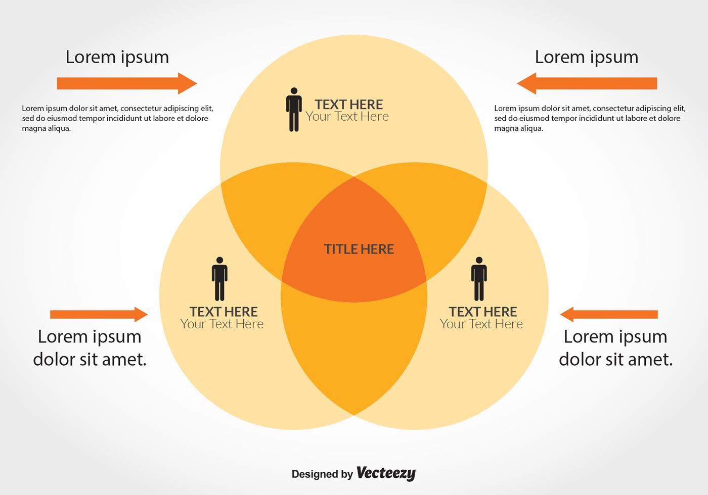Venn Diagram Vector Illustration