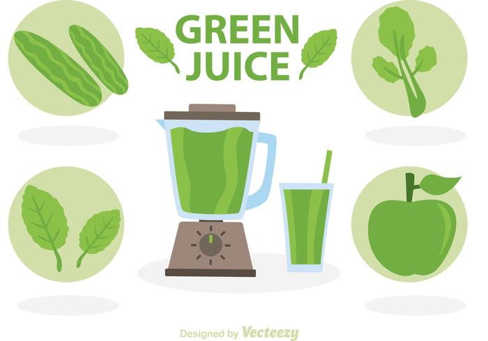 Green Juice Vectors