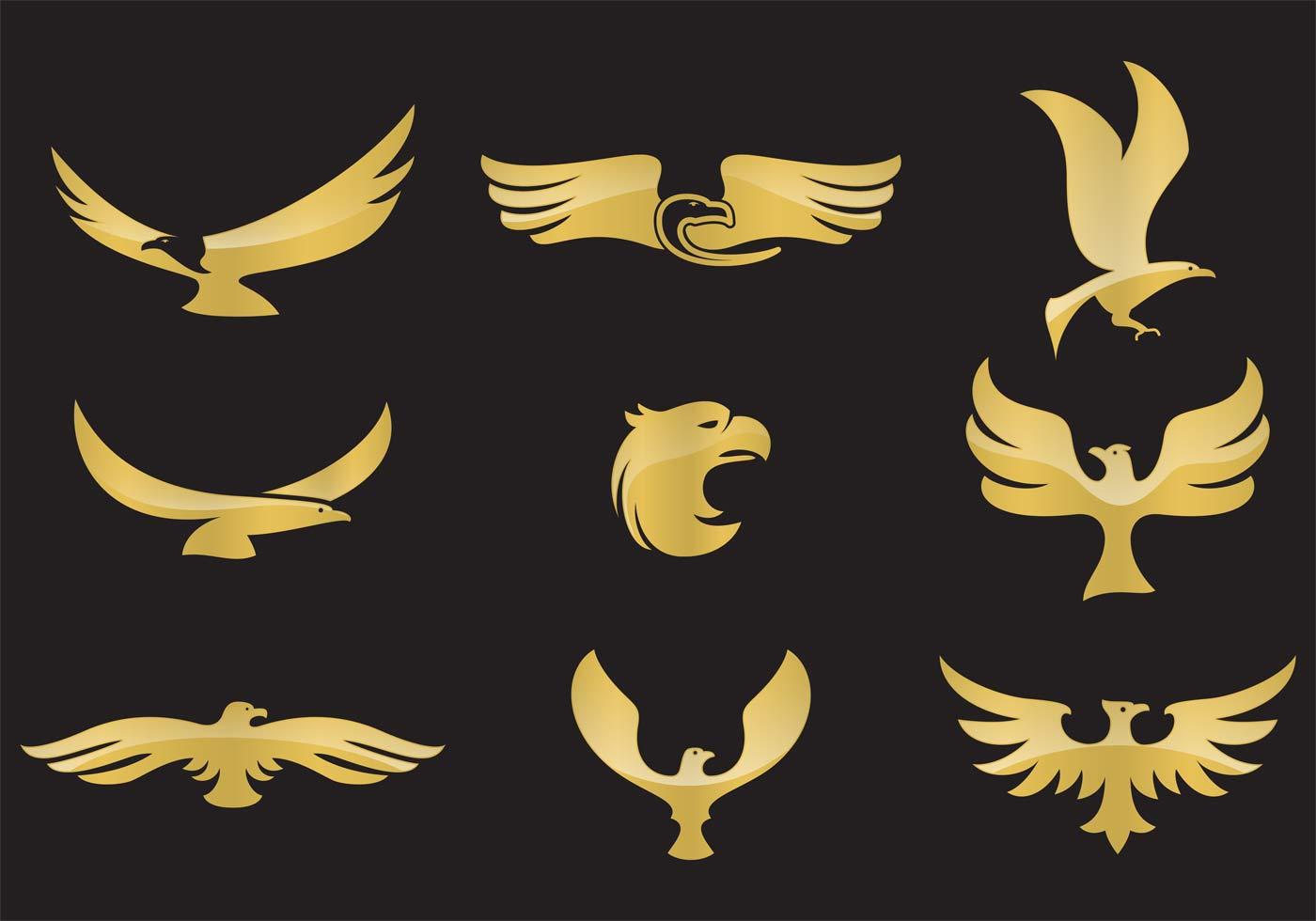 golden eagle vectors download free vector art stock