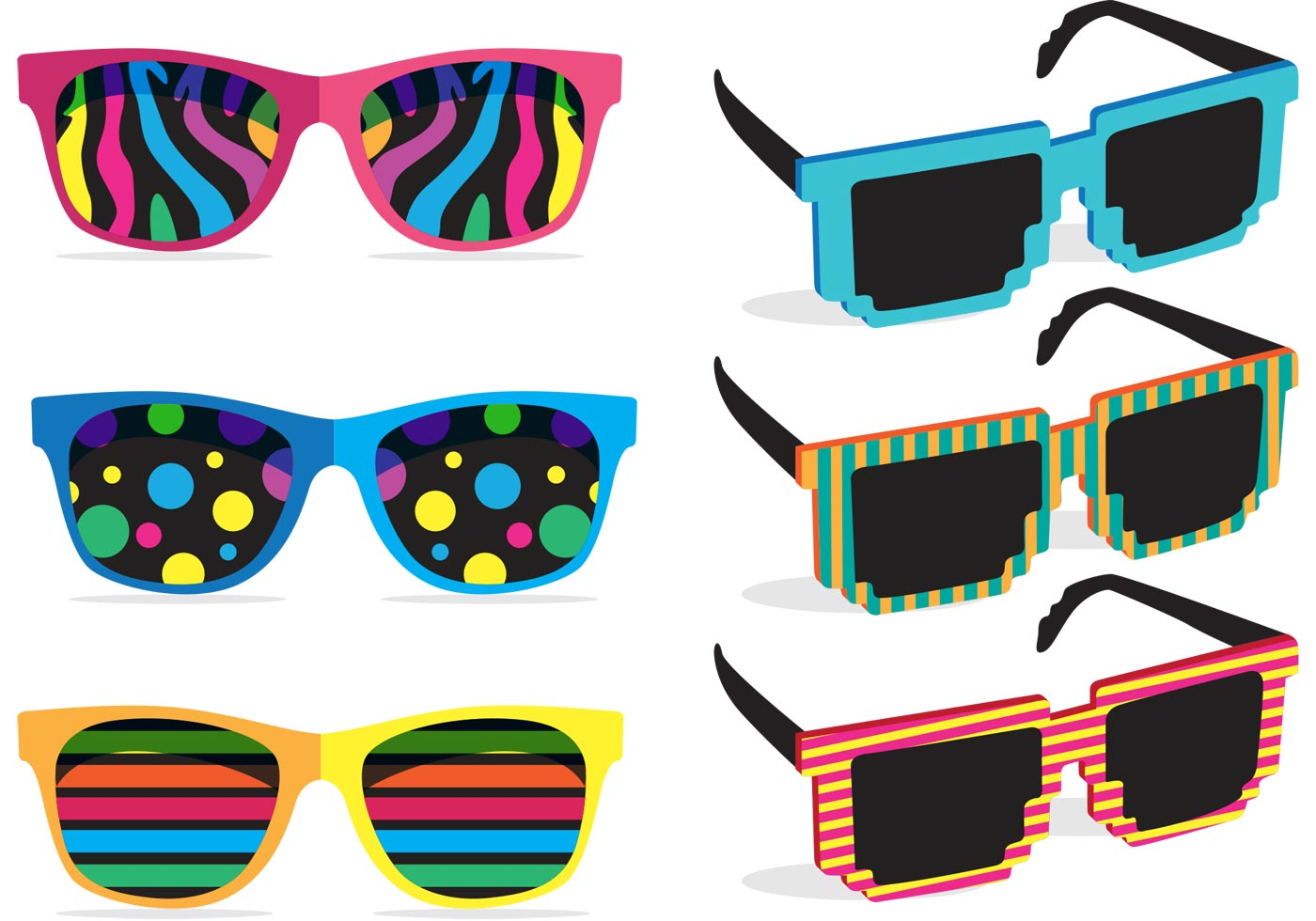 colorful 80 s sunglasses vectors download free vector easter rabbit clip art in black and white easter rabbit clipart free
